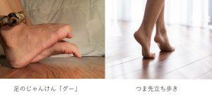 A,Profile,Of,Two,Feet,Side,By,Side,Flexed,Inward